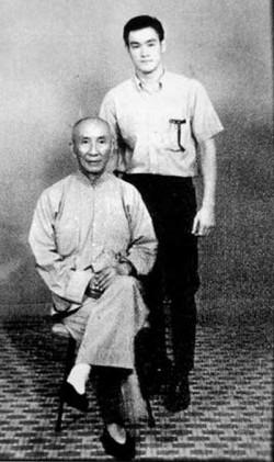 Sijo Yip Man en Bruce Lee